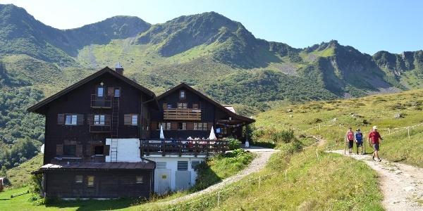 Schwarzwasserhütte Sommer