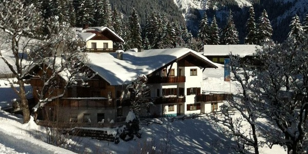 Gasthof Cafe Alpenwald Winter