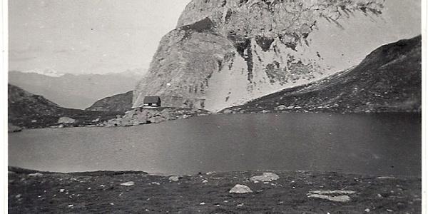 Die Hütte um 1930