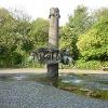 Stefan-Andres-Brunnen in Schweich.