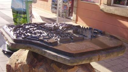 Relief-Stadtplan Detmold