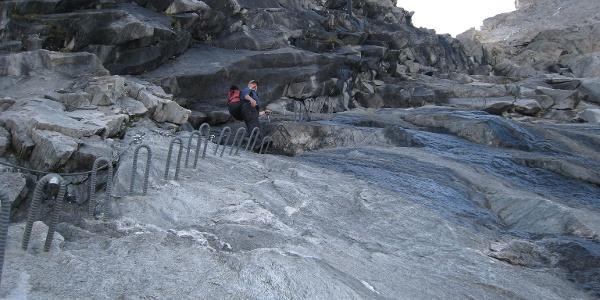 Klettersteig zur Gamsscharte