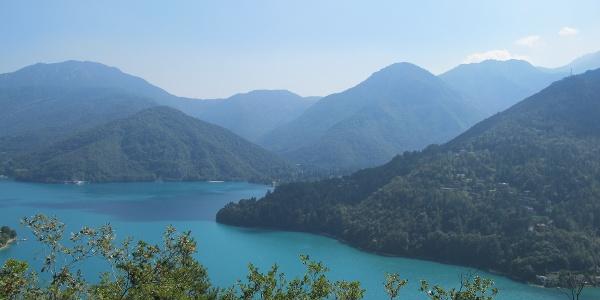View of the Lake Ledro