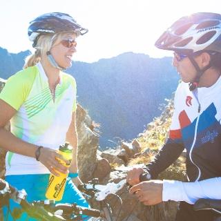 Mountainbiken in der Silvretta