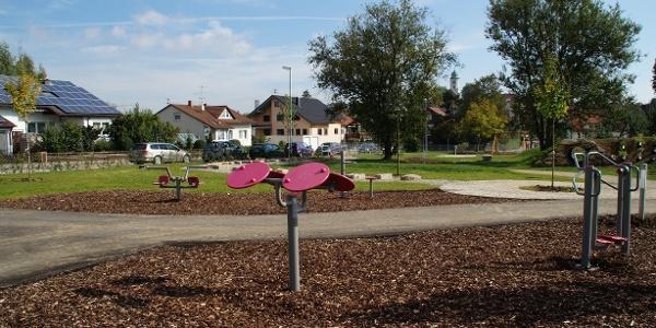 Mehrgenerationenspielpark Gerstetten Goethestraße