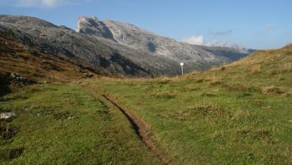 Der Setsas vom Wanderweg aus gesehen