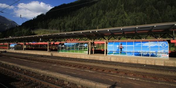 Der Nationalpark-Bahnhof Mallnitz-Obervellach