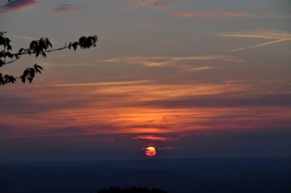 Sonnenuntergang auf der Wagner Alm - einfach traumhaft