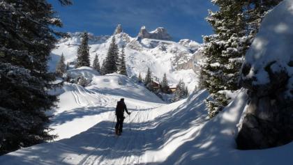 Nach gut 2 Stunden ist die schön gelegene Lindauer Hütte erreicht.