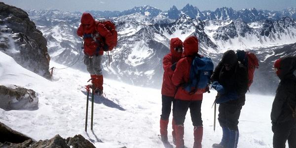 1980: Mit solchen Schneemassen in der Jägerscharte ist im Hochsommer heute kaum noch zu rechnen