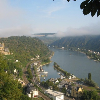 View over St. Goar