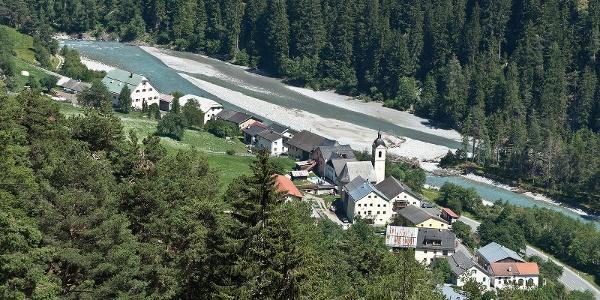 Schwarz- und Grünsee am Dreiländereck
