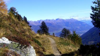 Blick über den Vinschgau