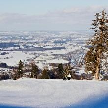 Blick ins Alpenvorland.