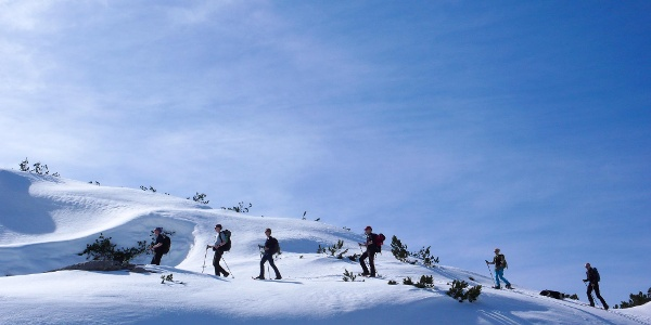 On top of the Dachstein plateau