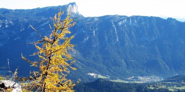 Blick zum Untersberg von der Karspitz