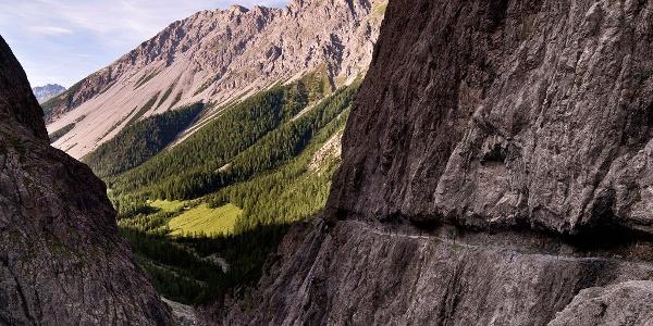 Uina-Bernina Bike-Tour. Etappe 1, Scuol - Sta. Maria