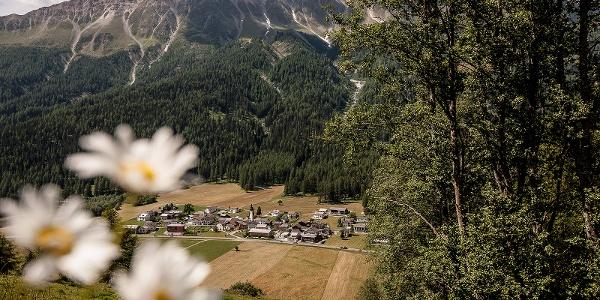 Jakobsweg Graubünden. Etappe 1, Müstair - Lü