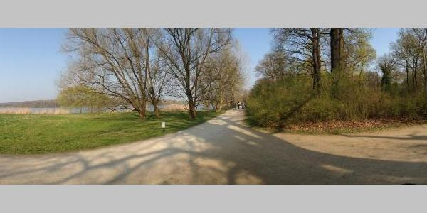 1. Etappe an der Havel in Potsdam