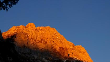 Erstes Sonnenlicht überm Wischberg