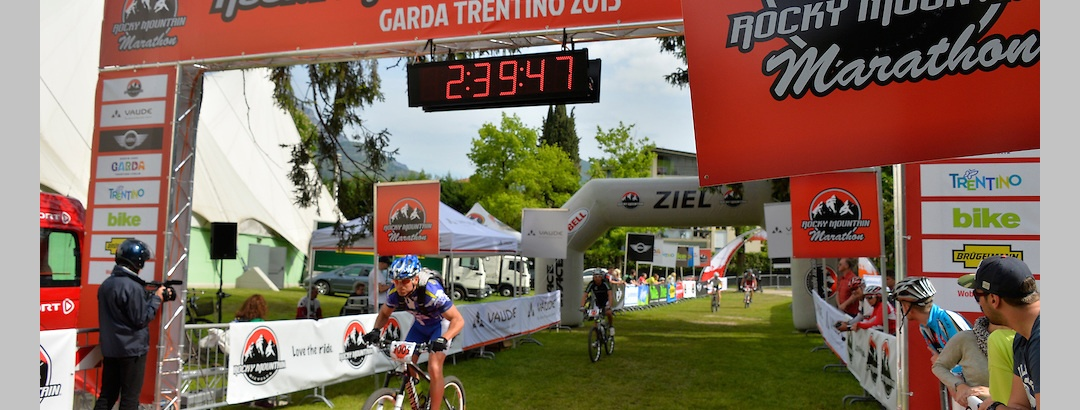 Ende des Bike Marathons